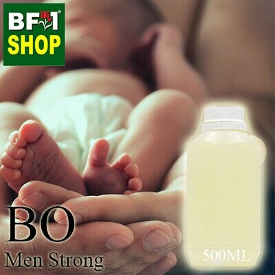 Blended Essential Oil (BO) - Men Strong Essential Oil - 500ml