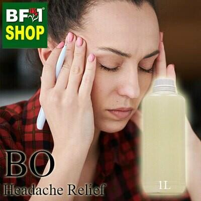 Blended Essential Oil (BO) - Headache Relief Essential Oil - 1L