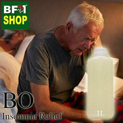 Blended Essential Oil (BO) - Insomnia Relief Essential Oil - 1L