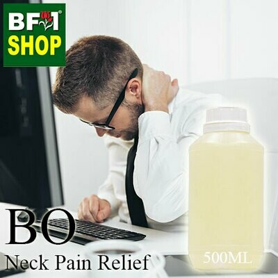 Blended Essential Oil (BO) - Neck Pain Relief Essential Oil - 500ml