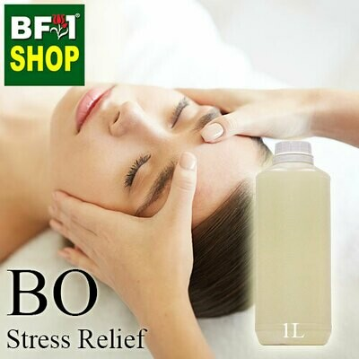 Blended Essential Oil (BO) - Stress Relief Essential Oil - 1L
