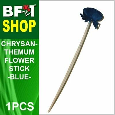 BAP- Reed Diffuser Flower Stick - Chrysanthemum - Blue x 1pc