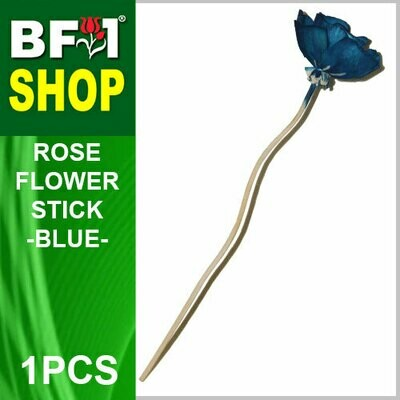 BAP- Reed Diffuser Flower Stick - Rose - Blue x 1pc