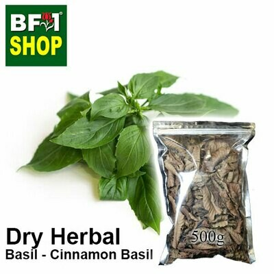 Dry Herbal - Basil - Cinnamon Basil ( Thai Basil ) - 500g