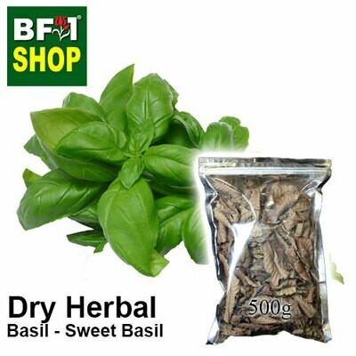 Dry Herbal - Basil - Sweet Basil ( Giant Basil ) - 500g
