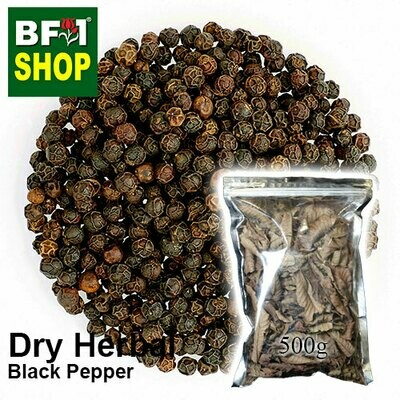 Dry Herbal - Black Pepper - 500g