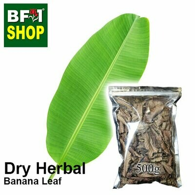 Dry Herbal - Banana Leaf - 500g