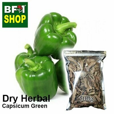 Dry Herbal - Capsicum Green - 500g