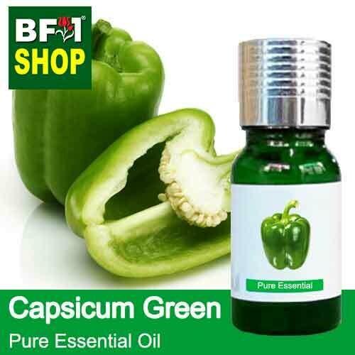 Pure Essential Oil (EO) - Capsicum Green Essential Oil - 10ml