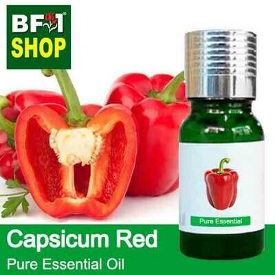 Pure Essential Oil (EO) - Capsicum Red Essential Oil - 10ml