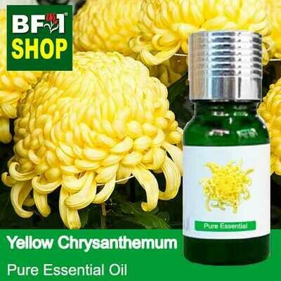 Pure Essential Oil (EO) - Chrysanthemum - Yellow Chrysanthemum Essential Oil - 10ml