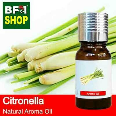 Natural Aroma Oil (AO) - Citronella ( Java Citronella ) Aroma Oil - 10ml