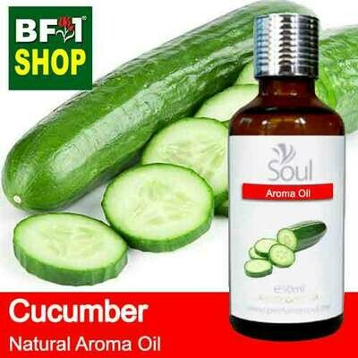 Natural Aroma Oil (AO) - Cucumber Aroma Oil  - 50ml