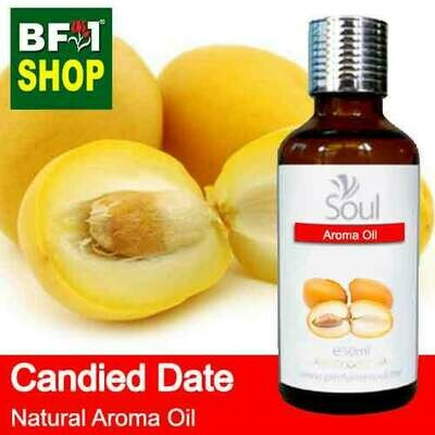 Natural Aroma Oil (AO) - Date - Candied Date Aroma Oil  - 50ml
