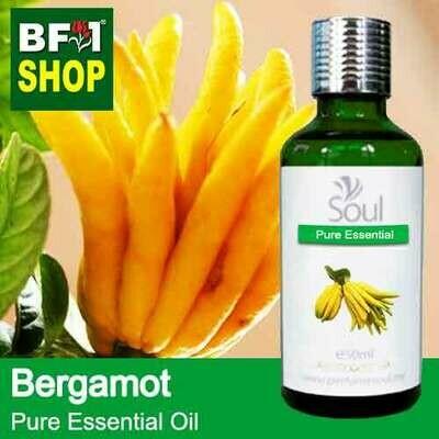 Pure Essential Oil (EO) - Bergamot Essential Oil - 50ml