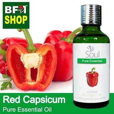 Pure Essential Oil (EO) - Capsicum Red Essential Oil - 50ml