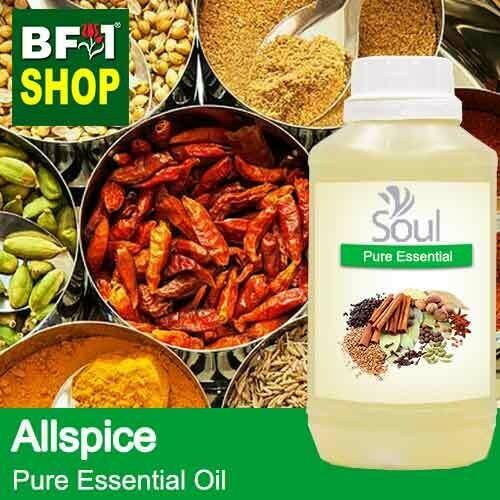 Pure Essential Oil (EO) - Allspice Essential Oil - 500ml