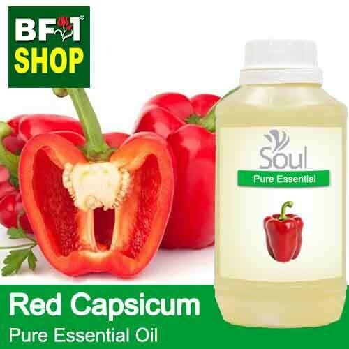 Pure Essential Oil (EO) - Capsicum Red Essential Oil - 500ml