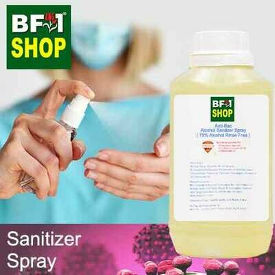 Antibacterial Alcohol Hand Sanitizer Spray ( 75% Alcohol Liquid Form Rinse Free ) - 500ml