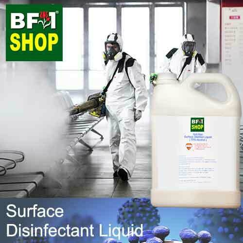 Anti-Bac Surface Disinfectant Liquid ( 70% IPA Alcohol ) - 5L