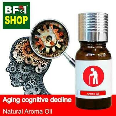 Natural Aroma Oil (AO) - Aging cognitive decline Aroma Oil - 10ml