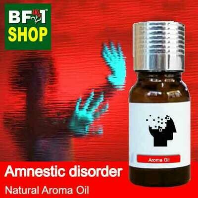 Natural Aroma Oil (AO) - Amnestic disorder Aroma Oil - 10ml