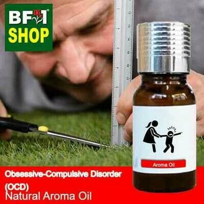 Natural Aroma Oil (AO) - Obsessive-compulsive disorder (OCD) Aroma Oil - 10ml