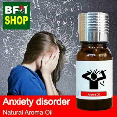 Natural Aroma Oil (AO) - Anxiety disorder Aroma Oil - 10ml