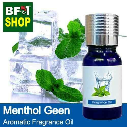 Aromatic Fragrance Oil (AFO) - Menthol Green - 10ml