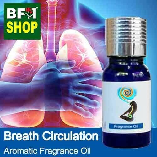 Aromatic Fragrance Oil (AFO) - Breath Circulation - 10ml