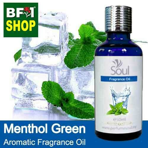 Aromatic Fragrance Oil (AFO) - Menthol Green - 50ml