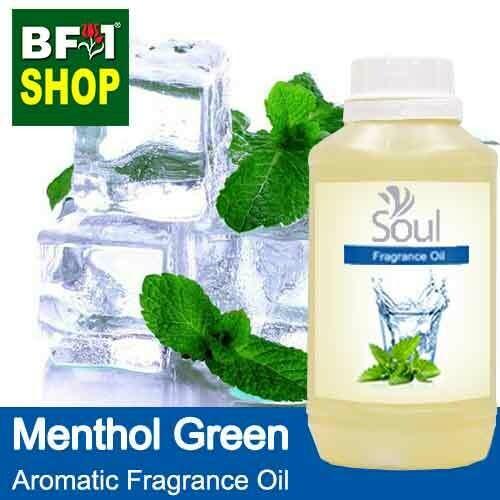 Aromatic Fragrance Oil (AFO) - Menthol Green - 500ml