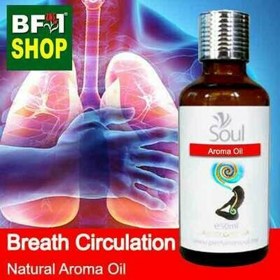 Natural Aroma Oil (AO) - Breath Circulation Aura Aroma Oil - 50ml