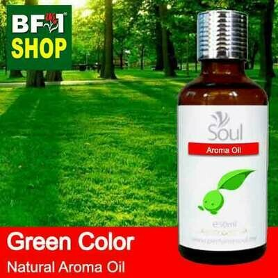 Natural Aroma Oil (AO) - Green Color Aura Aroma Oil - 50ml