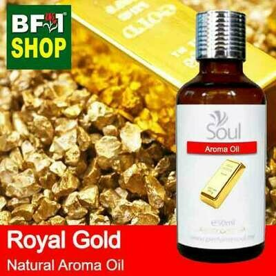 Natural Aroma Oil (AO) - Royal Gold Aura Aroma Oil - 50ml