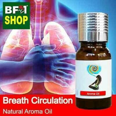 Natural Aroma Oil (AO) - Breath Circulation Aura Aroma Oil - 10ml