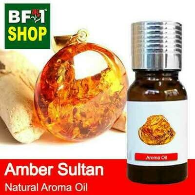 Natural Aroma Oil (AO) - Amber Sultan Aura Aroma Oil - 10ml