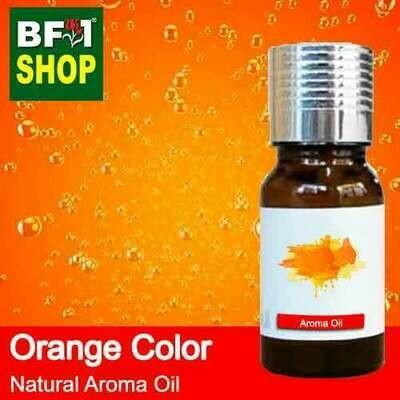 Natural Aroma Oil (AO) - Orange Color Aura Aroma Oil - 10ml