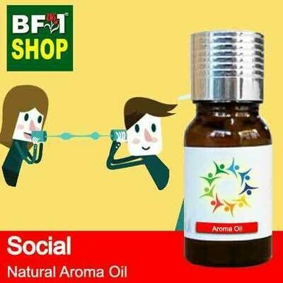 Natural Aroma Oil (AO) - Social Aura Aroma Oil - 10ml