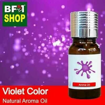 Natural Aroma Oil (AO) - Violet Color Aura Aroma Oil - 10ml