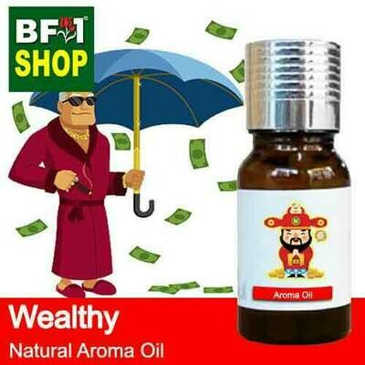 Natural Aroma Oil (AO) - Wealthy Aura Aroma Oil - 10ml