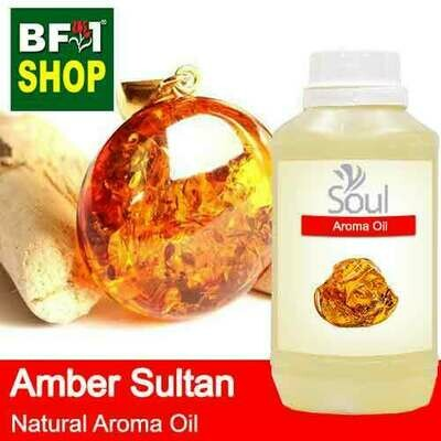 Natural Aroma Oil (AO) - Amber Sultan Aura Aroma Oil - 500ml