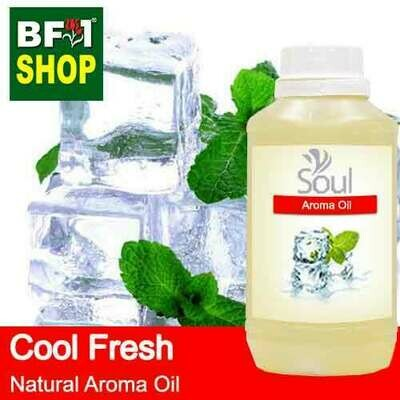 Natural Aroma Oil (AO) - Cool Fresh Aura Aroma Oil - 500ml