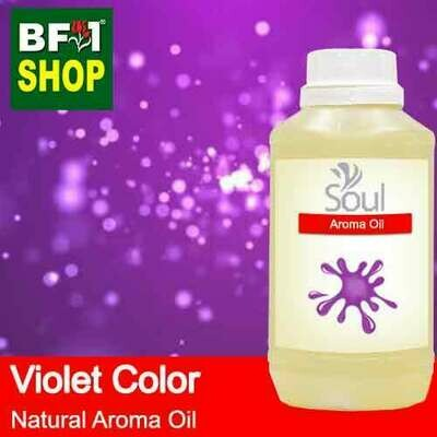 Natural Aroma Oil (AO) - Violet Color Aura Aroma Oil - 500ml