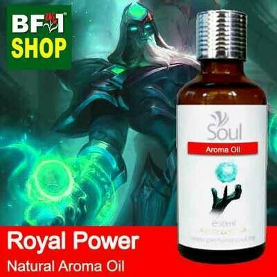 Natural Aroma Oil (AO) - Royal Power Aura Aroma Oil - 50ml