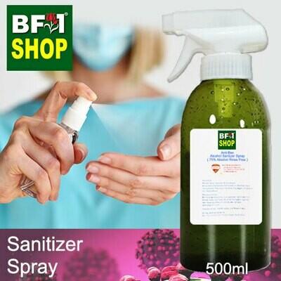 Antibacterial Alcohol Hand Sanitizer Spray ( 75% Alcohol Liquid Form Rinse Free ) - 500ml