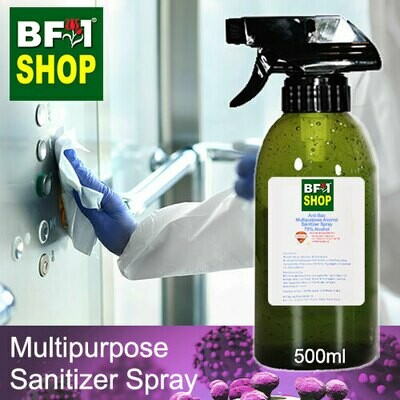 Anti-Bac Multipurpose Alcohol Sanitizer Spray ( 75% IPA Alcohol ) - 500ml