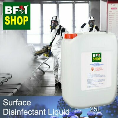 Anti-Bac Surface Disinfectant Liquid ( 70% IPA Alcohol ) - 25L