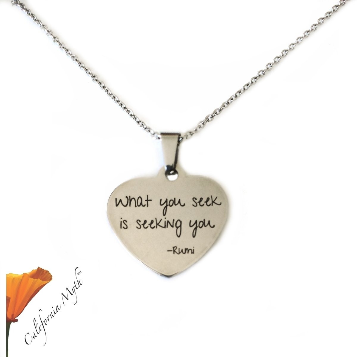 What You Seek Pendant Necklace