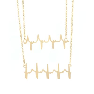 Double Original Heartbeat Necklace